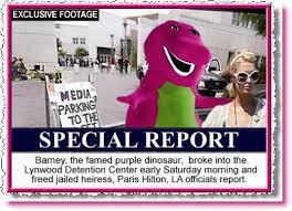 barney dinosaur angry african loose