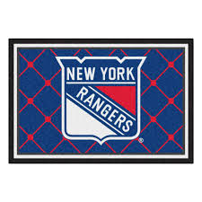 Area Rugs Nyc Fanmats New York Rangers 5 Ft X 8 Ft Area Rug 10478 The Home Depot