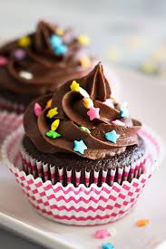 small batch chocolate cupcakes with chocolate buttercream baking