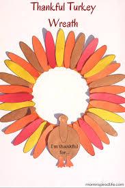 thankful turkey wreath tradition