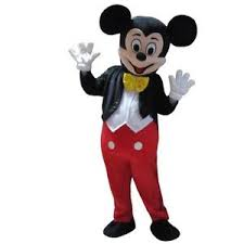 Mascot Halloween Costumes Size Mickey Mouse Mascot Costume Halloween Cosplay