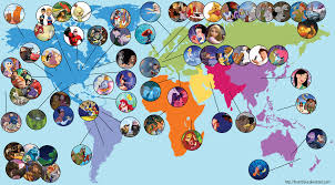 Disney Florida Map disney map by theantilove on deviantart