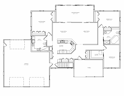 split level house plan ranch house plans with 3 car garage great corner lot side entry