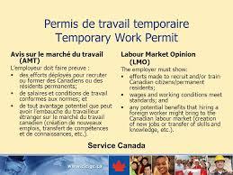 bureau des visas canada recrutement international appui du bureau des visas ppt
