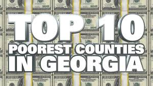 best towns in georgia 10 poorest counties in georgia 2014 youtube