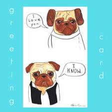 wars congratulations card congratulations wedding pugs greeting cards pk of 10 from ag