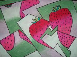 cubism colours a faithful attempt fractured cubist pastel drawings