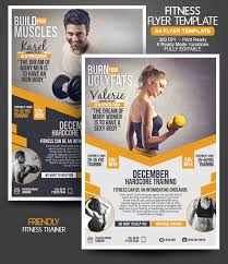 fitness flyer template top 20 business flyer templates small business marketing ideas