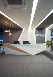 Designer Reception Desks 93 Best Office Reception Design Images On Pinterest Lobby