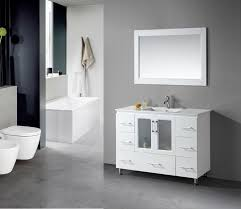 bathroom alcove ideas small bathroom vanity ideas white ceramic sink table counter top