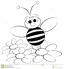 cute honey bee coloring pages