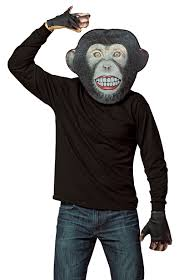gorilla monkey chimp halloween costumes nightmare factory 1 of