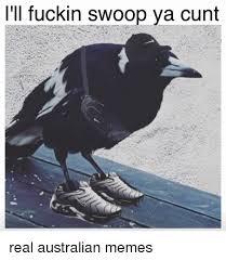 Australian Memes - fuckin swoop ya cunt real australian memes meme on me me