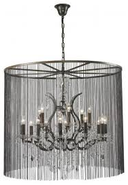 Industrial Crystal Chandelier Vaille Crystal Chandelier Large