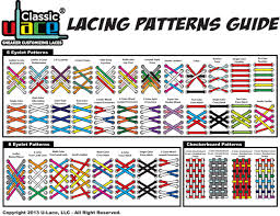 shoelace pattern for vans lacing guide u lace shoe lacing pinterest shoelace patterns