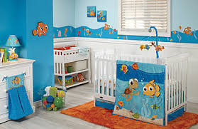 Fish Nursery Decor Baby Nursery Decor Blue Finding Nemo Baby Nursery Decor Simple