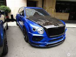 mansory bentley interior bentley bentayga by mansory smurfs out london