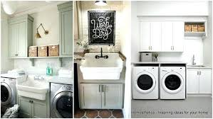 Laundry Room Cabinet With Sink Corner Laundry Cabinet Utility Room Cabinets Utility Sink White