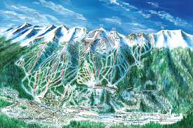 Colorado Mountain Map by Breckenridge Ski Resort Skimap Org