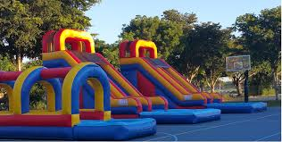 table rentals miami miami affordable kids party rental bounce house slide combos