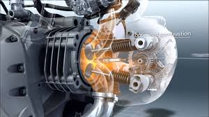 bmw r 1200 gs engine in slow motion youtube