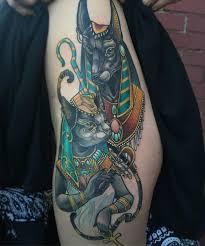 Anubis Tattoo Ideas The 25 Best Bastet Tattoo Ideas On Pinterest Egyptian Goddess