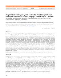 PDF Quantitative detection of Citrus tristeza virus in plant