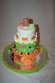 Halloween Baby Party Ideas Cakedreamz Com Cakes Halloween Baby Shower Cake