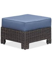 Wicker Outdoor Ottoman Viewport Wicker Outdoor Ottoman Created For Macy S Furniture