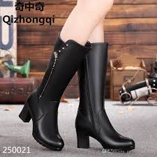 s boots designer 2017 winter genuine leather s boots high heeled fashion