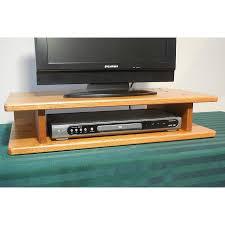 flat screen solid oak tv riser u2013 the oak furniture shop