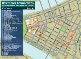bridges of county map tours downtown pedestrian tunnels skywalks and bridges bridges