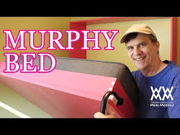 Murphy Bed Directions To Build How To Build A Murphy Bed Free Up Floor Space In Your Home Youtube