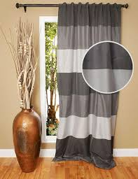 Horizontal Stripe Curtains Curtains Ideas Burgundy Striped Curtains Inspiring Pictures Of