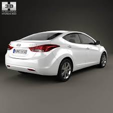 hyundai 2012 elantra hyundai elantra i35 sedan 2012 3d model hum3d