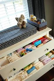 Changing Table Organization Nursery Drawer Organizer Changing Table Dresser Organization Home