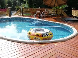 concrete pool deck ideas concrete flagstone simulation pool deck