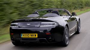 aston martin vantage 4 3 aston martin vantage black rear view road speed wallpaper free