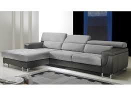 canapé d angle en cuir gris canapé d angle en cuir spécialiste canapé design pas cher