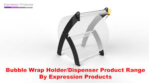 bubble wrap roll dispenser stand youtube