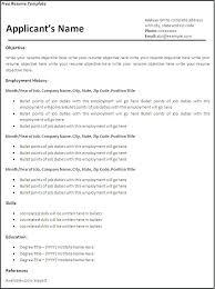plain text resume template plain resume template blank resume plain text resume
