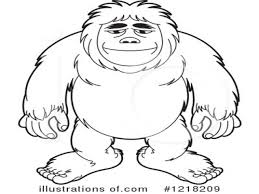 bigfoot coloring pages eassume com coloring home