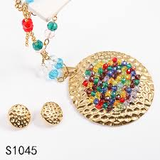 color rhinestone necklace images Colored rhinestone jewelry set colored rhinestone jewelry set jpg
