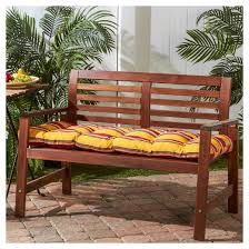 Bench Seat Cushion Outdoor Bench Seat Cushion Greendale Home Fashions Target