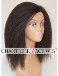 are there any full wigs made from human kinky hair that is styled in a two strand twist for black woman natural hair careschantiche indian remy human hair italian yaki