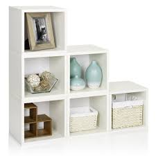 White Storage Bookcase by Way Basics Design A Cube Bookcase Hayneedle