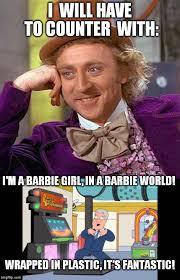 Barbie Girl Meme - barbie world meme world best of the funny meme