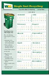schedule wm cities waste management