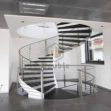 Helical Staircase Design Helical Staircases Stainless Steel Curved Stairs For Commercial