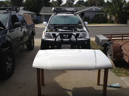 2003 Nissan Frontier Roof Rack by How To Install Poison Spyder Hood Louver Cpl Second